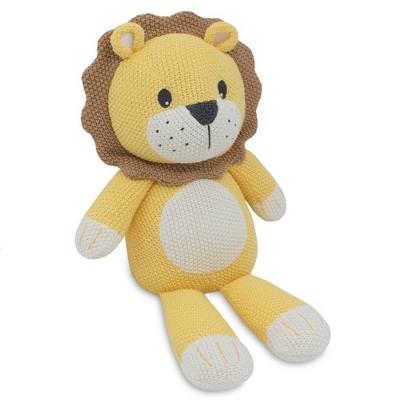 Living Textiles Baby Stuffed Animal - Leo Lion