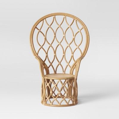 Peacock Rattan Chair Natural   Opalhouse™ by Opalhouse