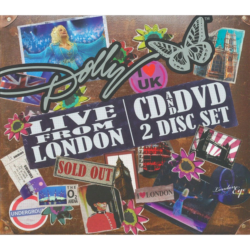 Dolly Parton - Live from London (CD)