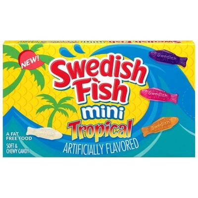Swedish Fish Tropical Minis - 3.5oz