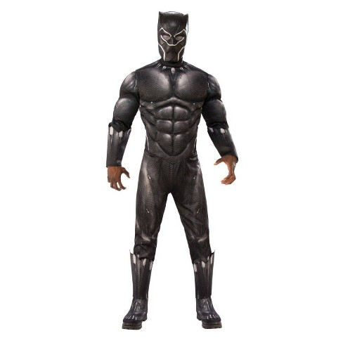 Adult Avengers Black Panther Deluxe Halloween Costume - image 1 of 1