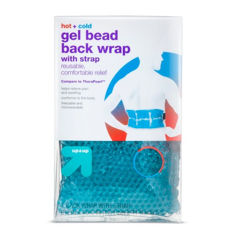 Hot+Cold Gel Bead Back Wrap with Strap - Up&Up™ (Compare to TheraPearl) - image 1 of 2