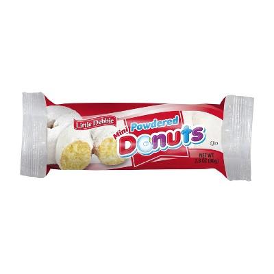 Little Debbie Powdered Mini Donuts - 2.8oz
