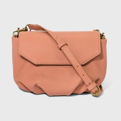 Pleated Crossbody Bag - Universal Thread™
