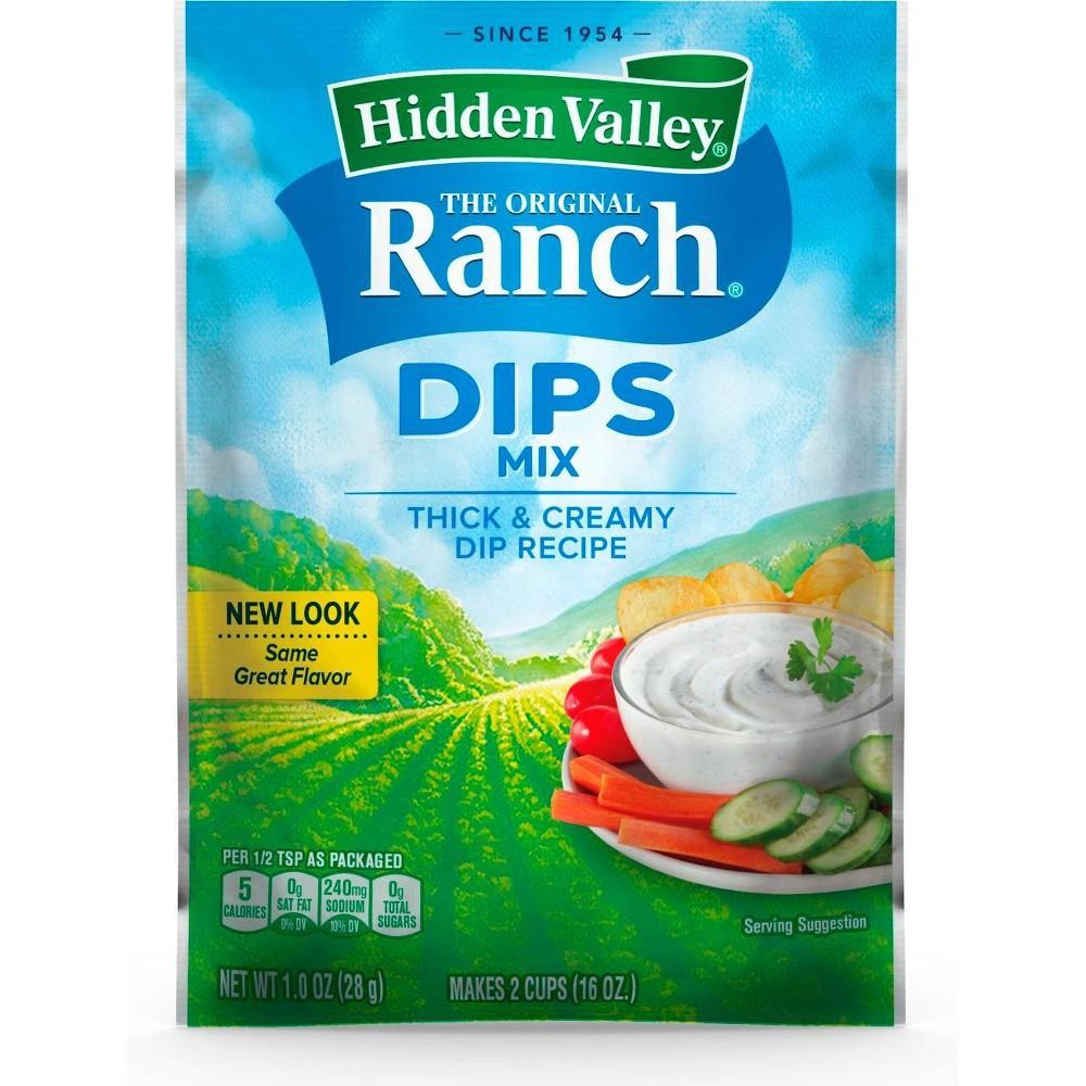 Hidden Valley Original Ranch Dips Mix 1oz