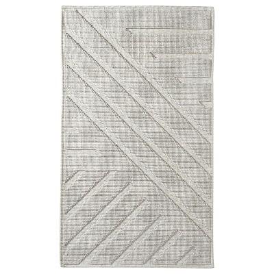 """20""""x34"""" Geo Stripe Bath Mat Cream - Project 62™ + Nate Berkus™"""