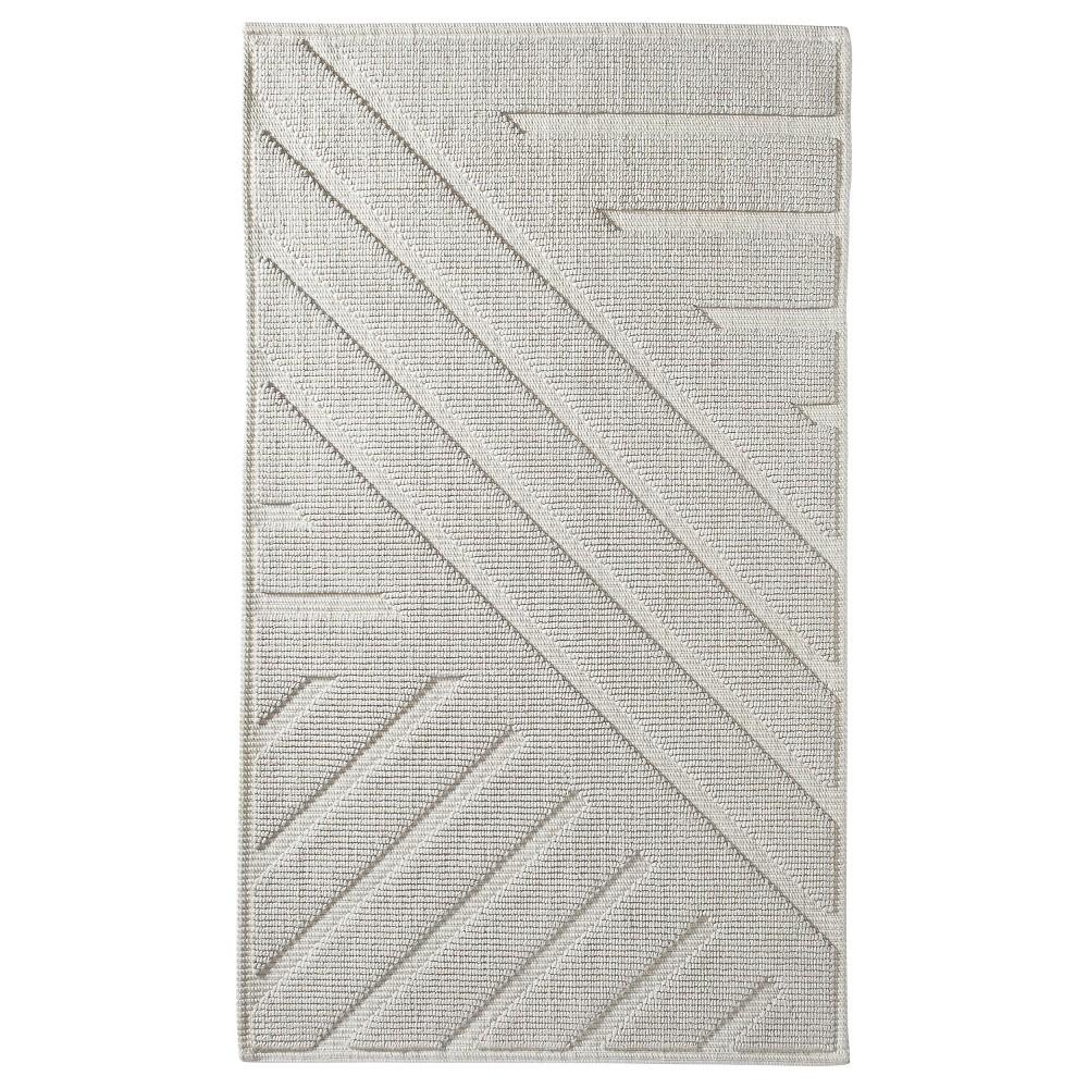 Geo Stripe Bath Mat (20