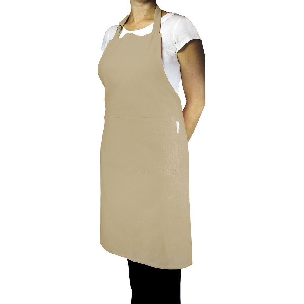 Chef Apron Flax Tan - Mu Kitchen