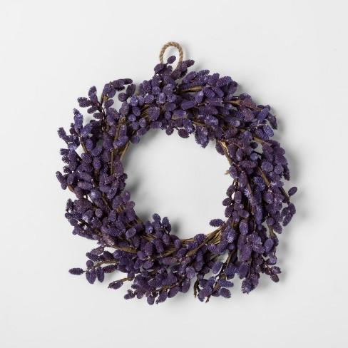 Lavender Mini Wreath - Smith & Hawken™ - image 1 of 1