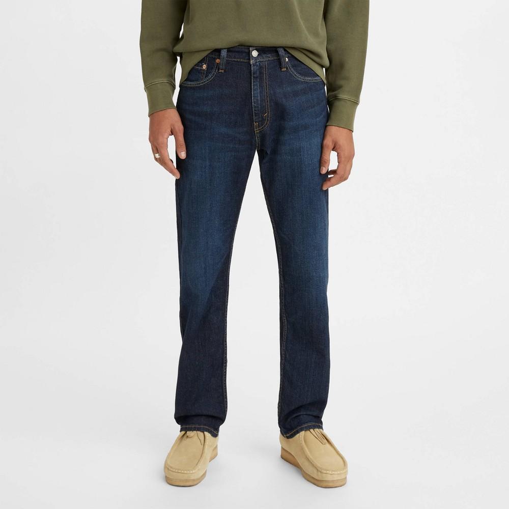 Levi 39 S 174 Men 39 S 505 8482 Straight Regular Fit Jeans Blue 32x32