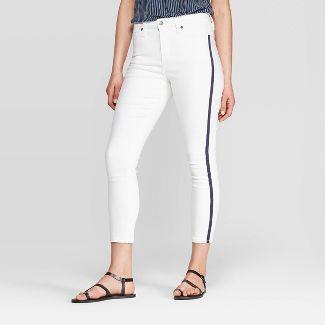 Women's High-Rise Skinny Jeans - Universal Thread™ White 12
