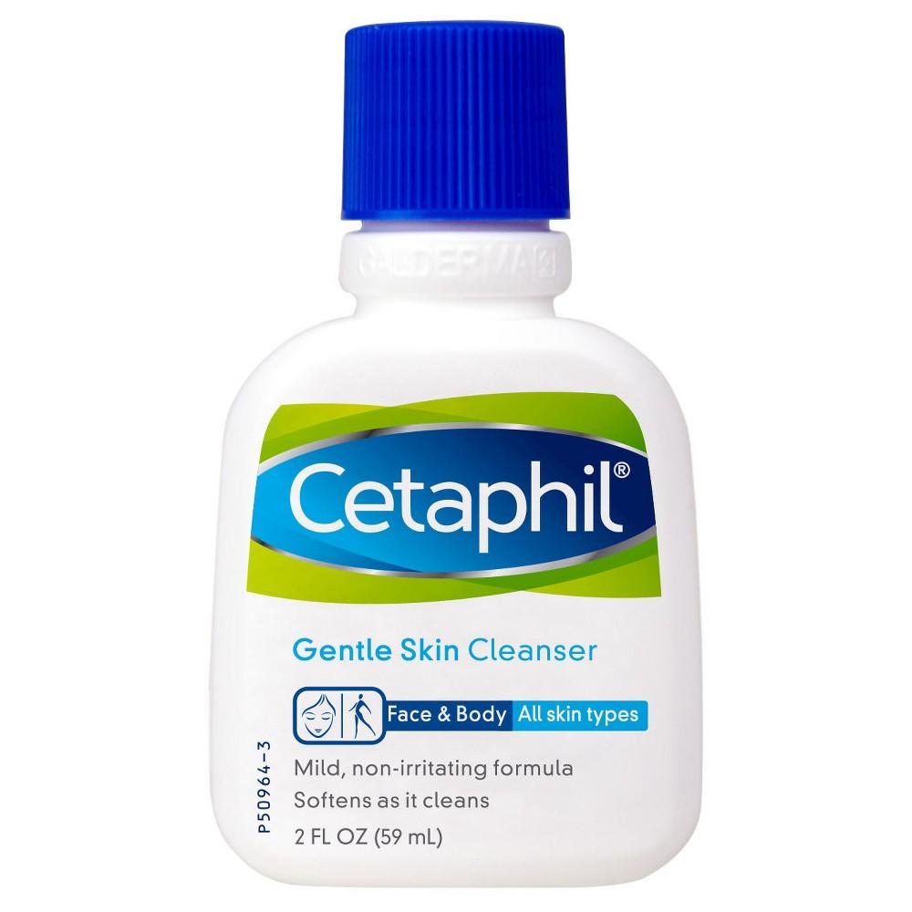 Unscented Cetaphil Gentle Skin Cleanser - 2oz