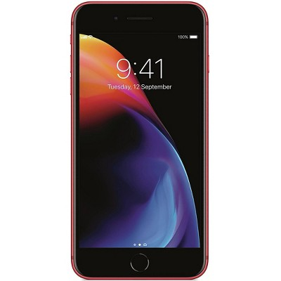Apple iPhone Unlocked 8 Plus Pre-Owned (256GB) GSM Phone - Red