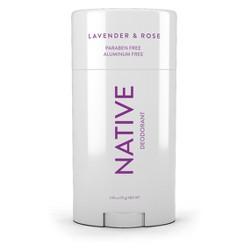 Native Lavender & Rose Deodorant- 2.65oz