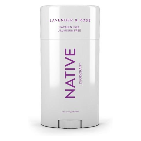 Native Lavender & Rose Deodorant- 2.65oz - image 1 of 3