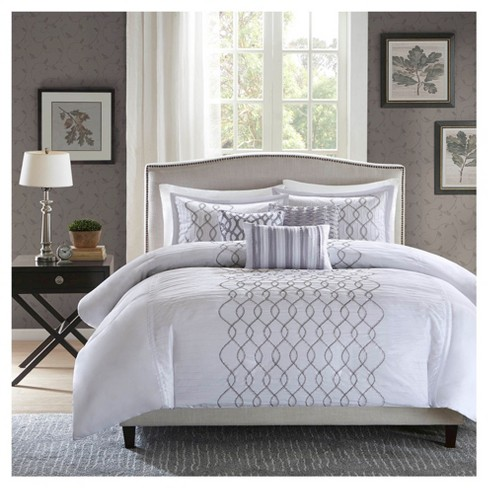 Lydia Duvet Cover Set - 6-Piece - image 1 of 6