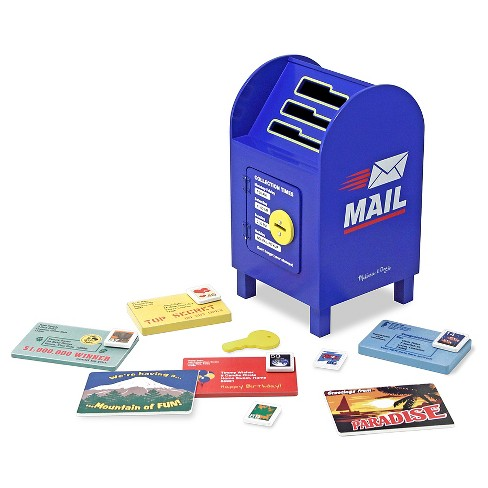 Melissa & Doug® Stamp and Sort Wooden Mailbox Activity and Toy - image 1 of 4