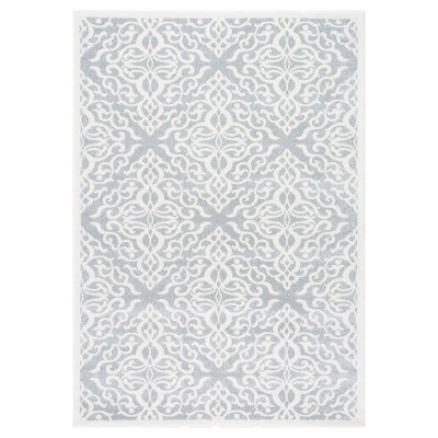 Sterling Gray Solid Loomed Area Rug - (5'x7'5 )- nuLOOM