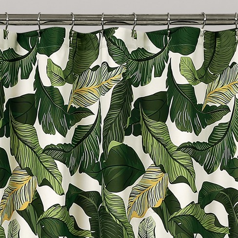 Tropical Paradise Shower Curtain 72x72 Green
