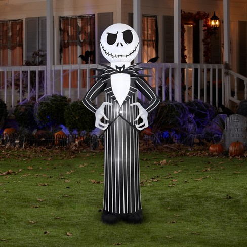 halloween disney jack skellington from nightmare before christmas airblown target