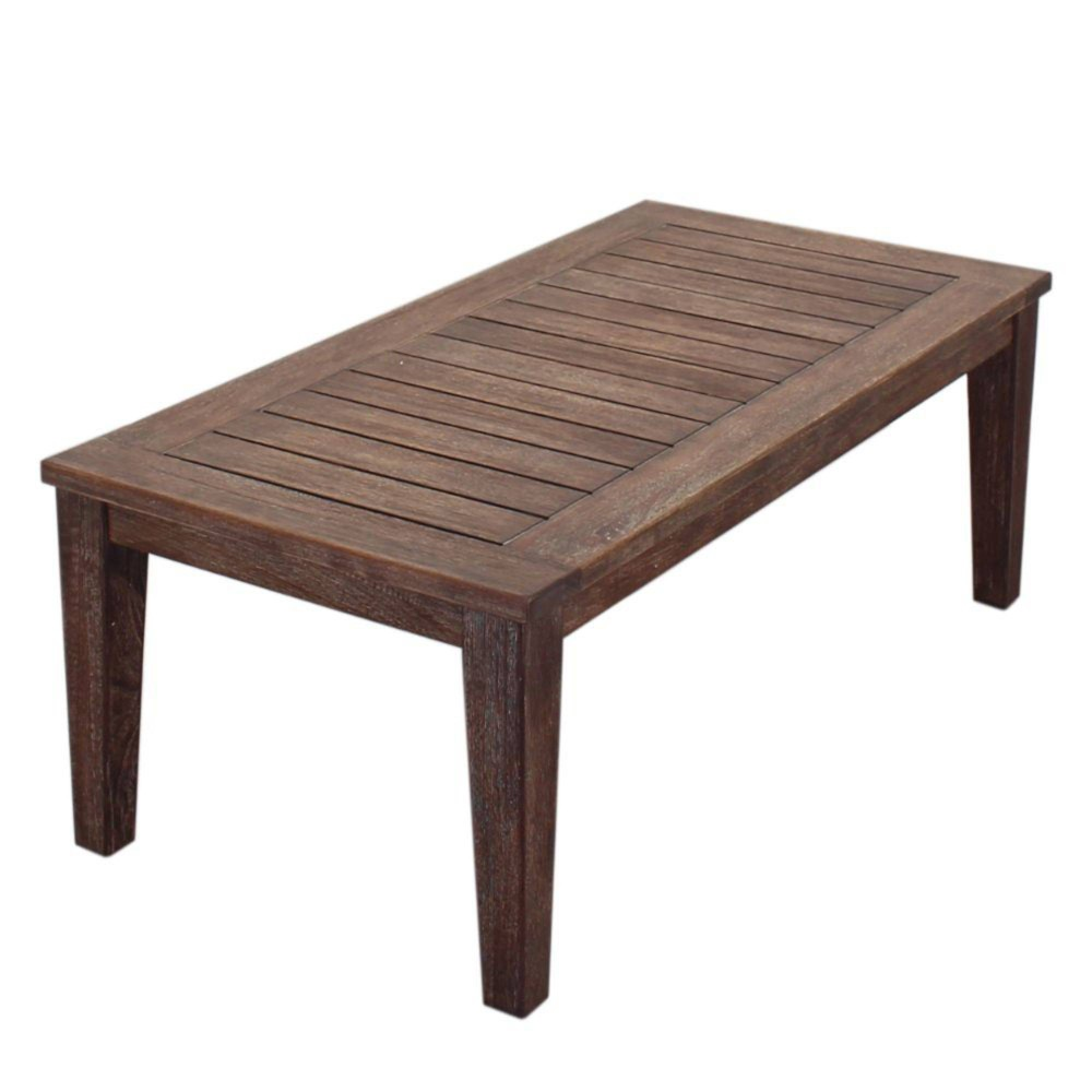 Bridgeport Coffee Table Taupe Courtyard Casual