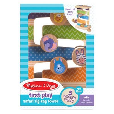 Melissa & Doug First Play Safari Zig - Zag Tower