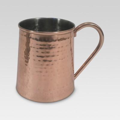 Beer Mug 20oz Stainless Steel Copper - Threshold™