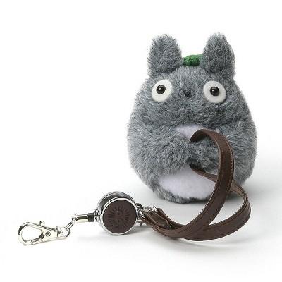 "Enesco My Neighbor Totoro Retractable 3.5"" Plush Key Holder"