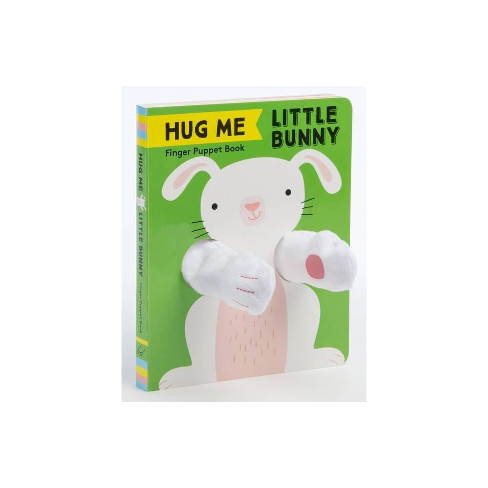 Hug Me Little Bunny Finger Puppet Book Board Book