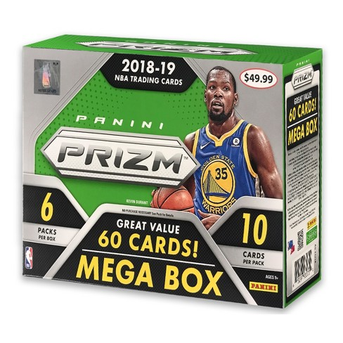 2018 NBA Prizm Basketball Trading Card Mega Box - image 1 of 3