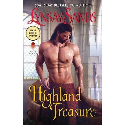 Highland Treasure - (Highland Brides, 9) by Lynsay Sands (Paperback)