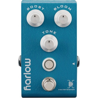 Bogner Harlow V2 BOOST + BLOOM With Transformer Guitar Effects Pedal Blue