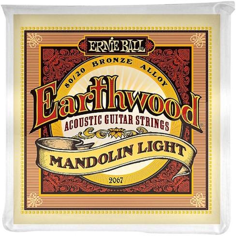 Ernie Ball 2067 Earthwood 80/20 Bronze Mandolin Light Strings - image 1 of 2