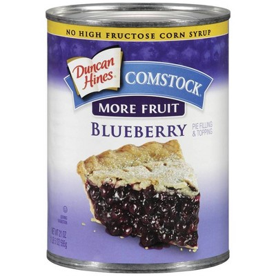 Comstock More Fruit Premium Blueberry Pie Filling or Topping - 21oz