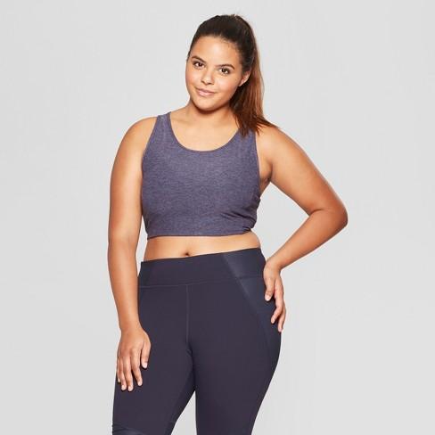 2e58fddf186ca Women s Plus Size Longline Sports Bra - JoyLab™ Pumpkin Orange1X