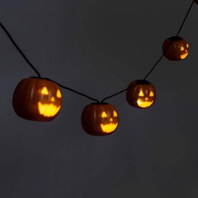 Musical Pumpkin LED Halloween String Lights - Hyde & EEK! Boutique™