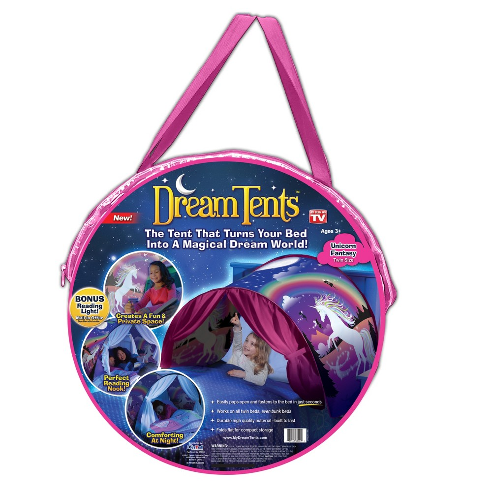 As Seen on TV Dream Unicorn Bed Tents, Multi-Colored