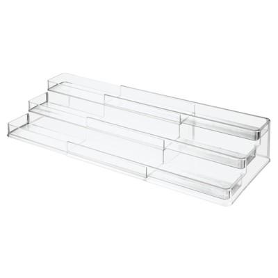 mDesign Large Expandable Vitamin Rack, Bathroom Storage Organizer