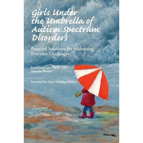 Girls Under the Umbrella of Autism Spectrum Disorders - by  Ph D Lori Ernsperger & Danielle Wendel - image 1 of 1