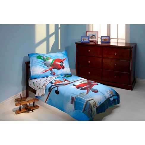 Disney® Planes Own The Sky's 4 Piece Bedding Set - Toddler - image 1 of 1