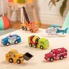 B. Toys Wooden Vehicle - 1pc - Wood & Wheels - 1 of 10 SURPRISE! - image 2 of 4