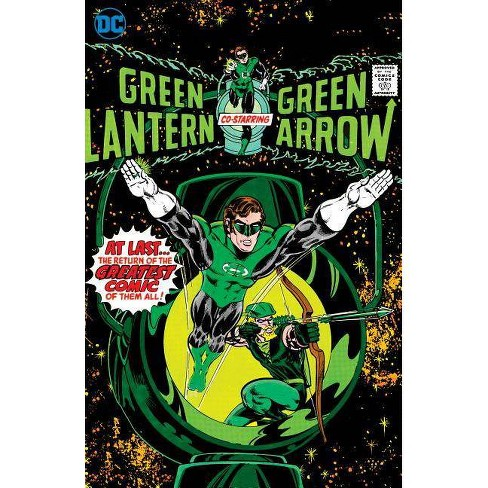 Green Lantern/Green Arrow: Space Traveling Heroes - by  Dennis O'Neil (Hardcover) - image 1 of 1
