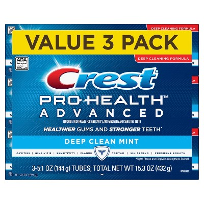 Toothpaste: Crest Pro-Health Advanced