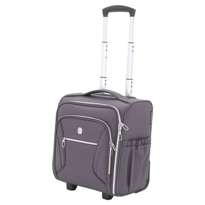 SwissGear Checklite Carry On Underseat Suitcase - Charcoal