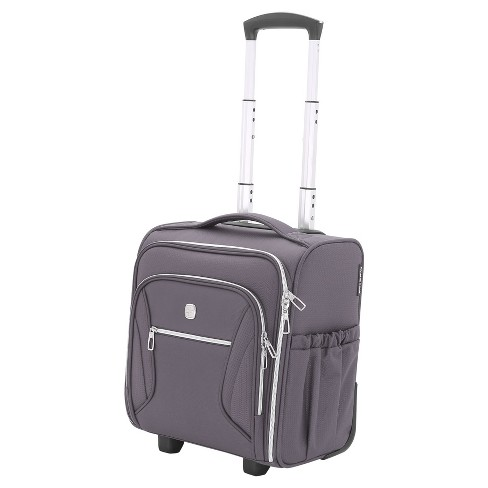 5ac0a4a79e SWISSGEAR Checklite Underseat Carry On Suitcase   Target