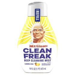 Mr. Clean Clean Freak Cleaning Mist Multi-Surface Spray - Lemon Zest Refill - 1ct/16 fl oz