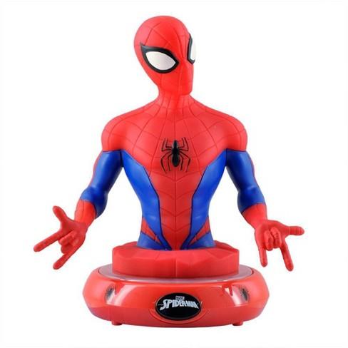 Marvel Spider-Man Night Light Red - image 1 of 4
