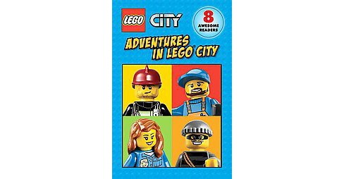 Adventures in Lego City (Paperback) (Sonia Sander) - image 1 of 1