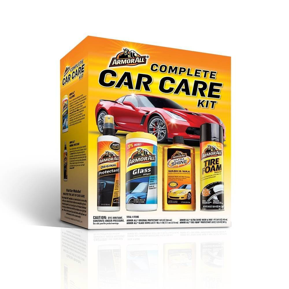 Armor All Complete Car Care Automotive Cleaning Kit