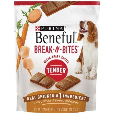 Purina® Beneful® Break-N-Bites™ Tender Chicken, Carrots & Sweet Potatoes Flavor Dog Treats - 16oz